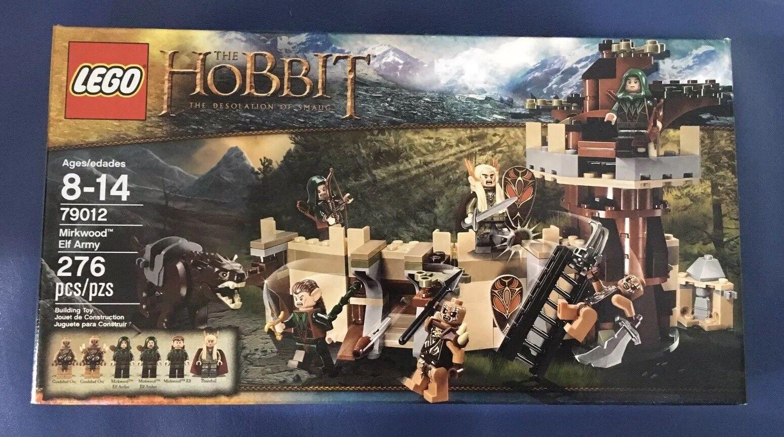 Lego  The  Hobbit - Mirkwood Elf Army (79012) NIB   RETIrosso    qualità ufficiale