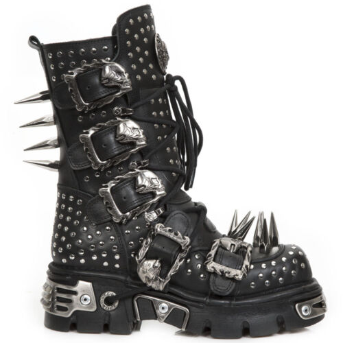 1535 Black S1 M Rock Nr Newmili New Unisex Boots qtfH4wnZ