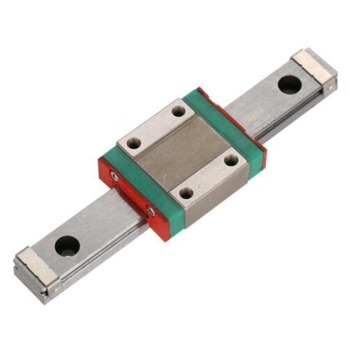 LML12B Miniatur Linearführung Linearschienen mit Führungsblock 100mm-450mm CNC