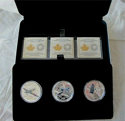 2017 1 oz 99.99/% Pure Silver Coin Aircraft of The Second World War Avro Anson
