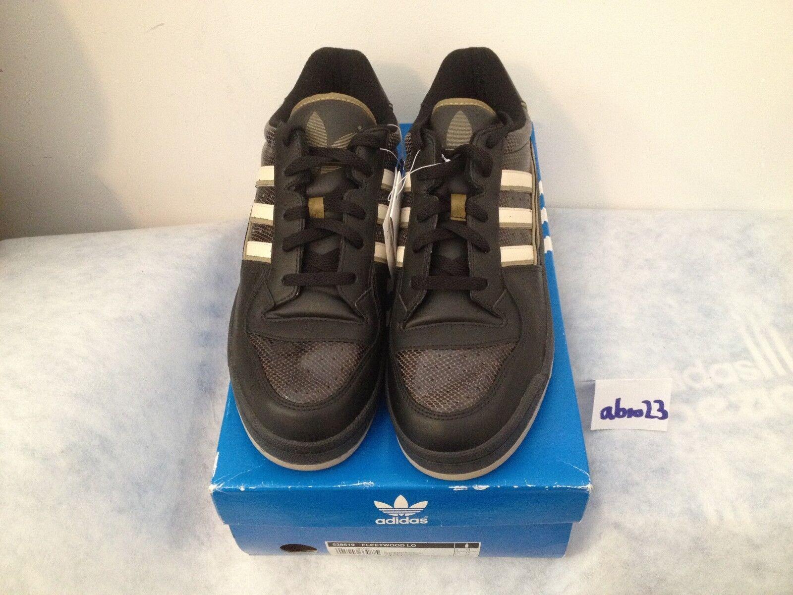 Adidas FLEETWOOD LO 46 UK 11 US 11.5 BNWT 538619 prod. 04 2004 Forum NEU NEW