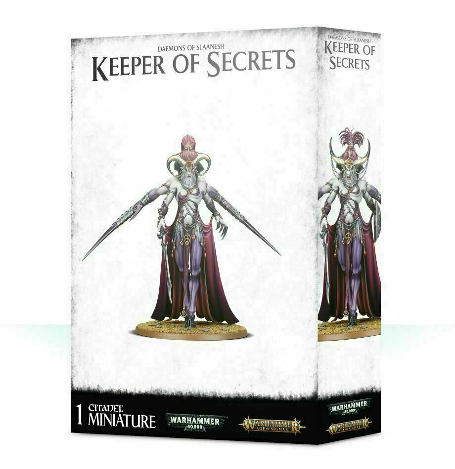 Daemons of Slaanesh Keeper of Secrets Warhammer AoS