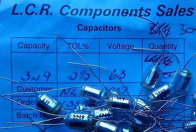 LCR FSC//P 130pF 2.5/% 63V Polystyrene Capacitors