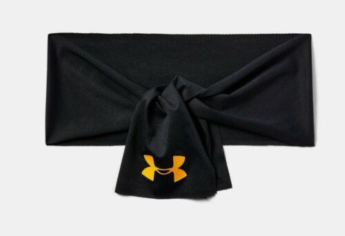 Under Armour Headwear Project Rock Headband Brahma Bull 1353285 Black