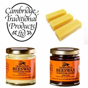 Image Is Loading Cambridge Traditional Beeswax Wood Furniture Polish Cream Finest