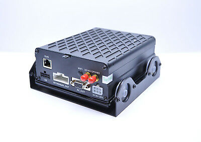 4 Channel GPS+4G Video Recording AHD Mobile DVR System With 1TB Hard Drive