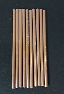 10-Vintage-Coloray-Brown-Pencils-by-Faber-Castell