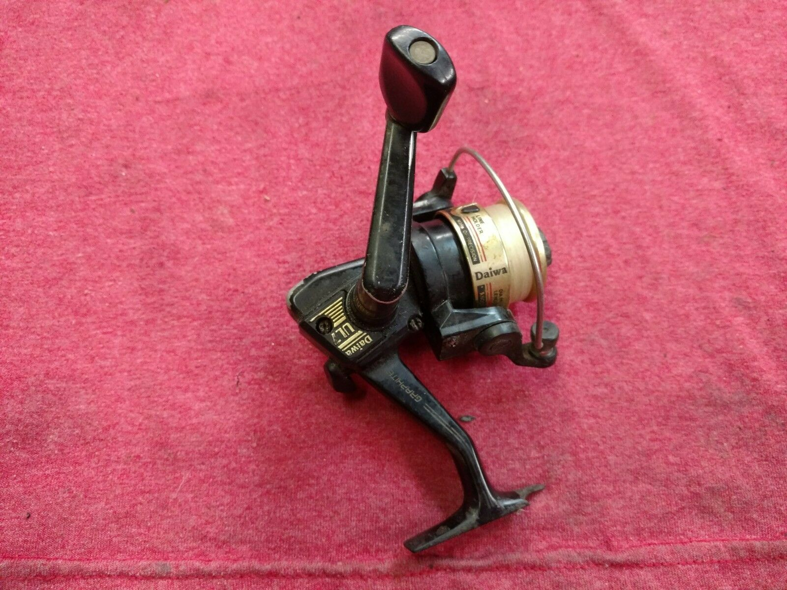 DAIWA UL7 UL 7 ULTRALIGHT SPINNING FISHING REEL made in Taiwan