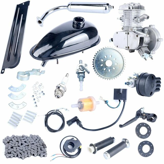 80cc 2 Stroke Motor Engine Kit Gas for Motorized Bicycle Bike Motorized Bike
