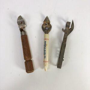 Lot-Of-3-Vintage-Church-Key-Openers