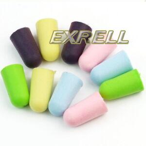 Tappi per orecchie 30 paia 24x13mm nuovo sonno riposo for Tappi orecchie silicone per dormire