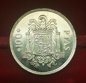 B-D-M-Espana-Spain-100-Pesetas-Juan-Carlos-I-1975-76-Km-810-SC-UNC