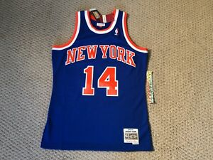 1cbe6679781 Anthony Mason New York Knicks Mitchell Ness 1991-92 HWC Swingman ...