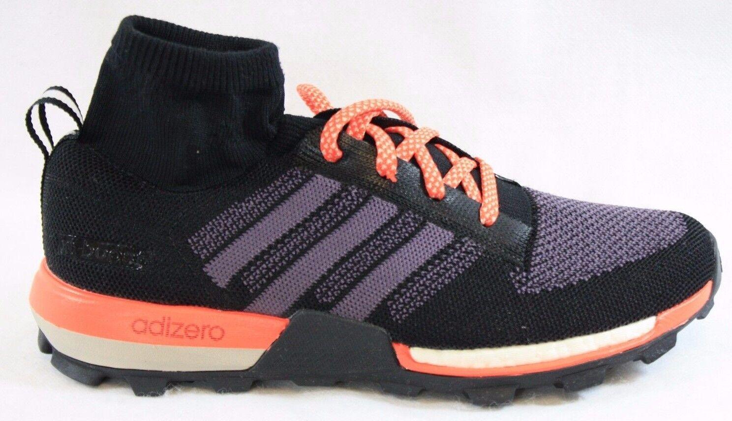 NEW Womens Sz 7 ADIDAS Adizero XT Prime Boost B23491 Black Purple Sneaker shoes