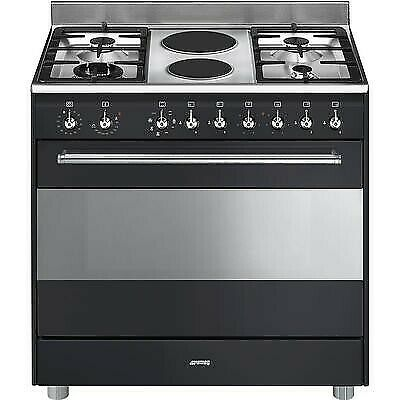 Smeg stoves SSA92MAA9 Cooker | 90x60 cm | Classica | Concerto | Anthracite | Hob type: Mixed | Type