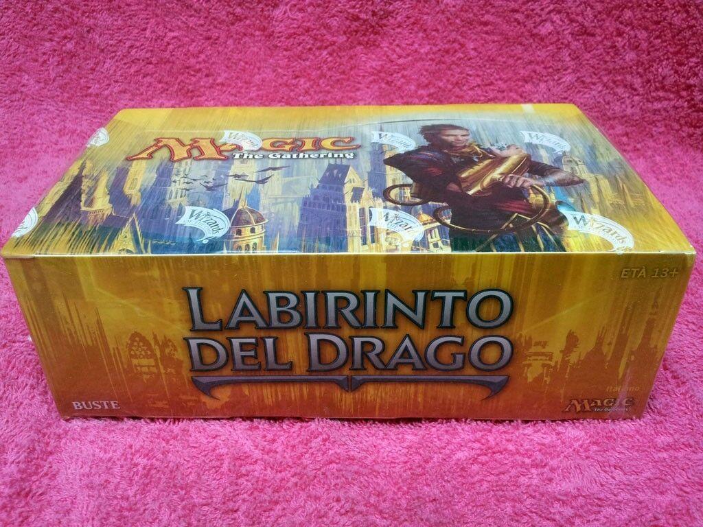 Italienische magie mtg - drachen - labyrinth dgm fabrik versiegelt - box der sammlung