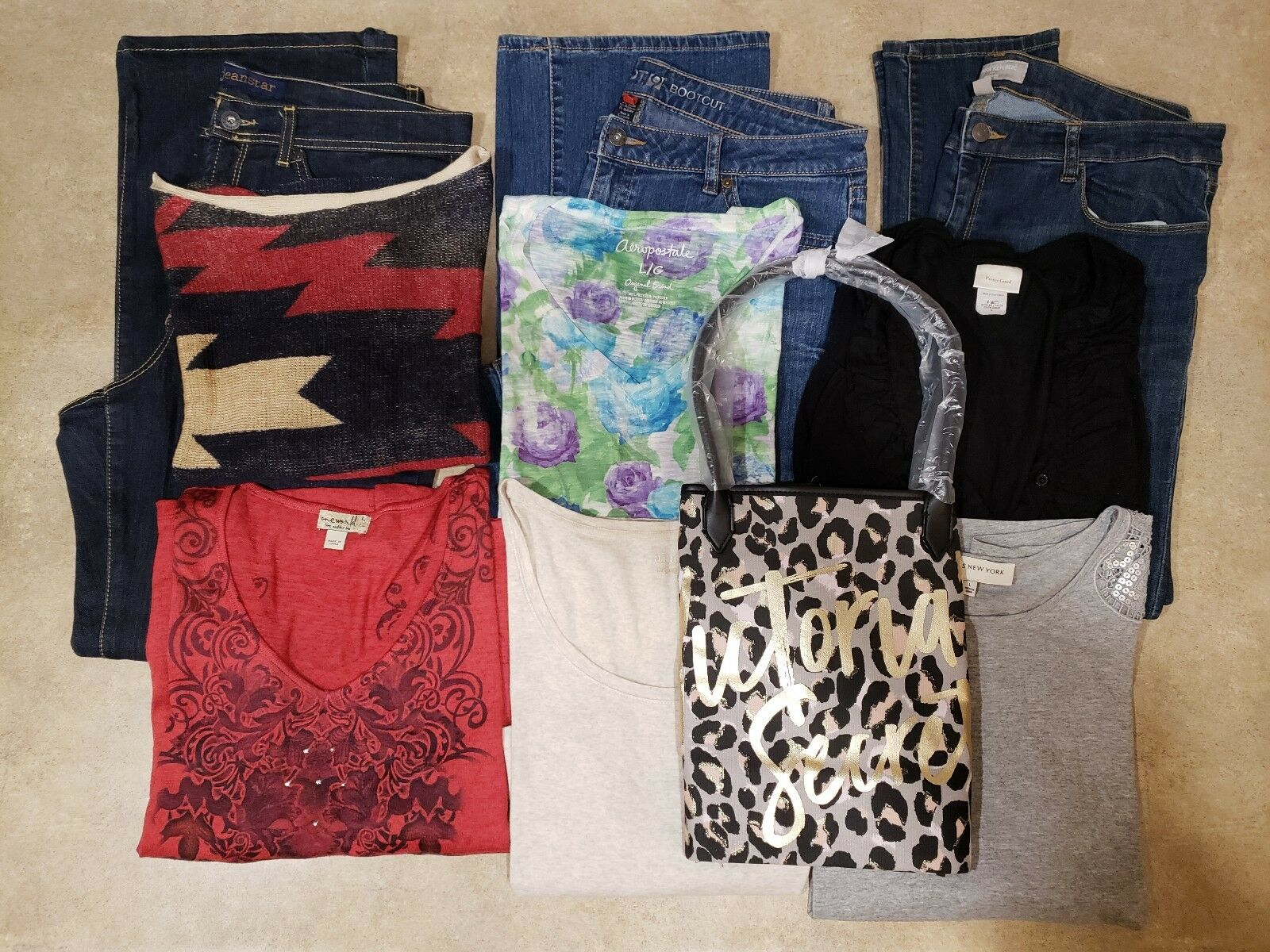 10 Piece Lot Womens Clothing 14 L