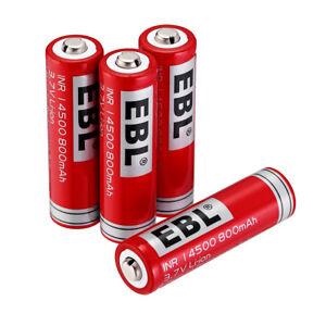 4-Pcs-3-7V-800mAh-14500-Battery-Li-ion-Rechargeable-Batteries-For-LED-Flashlight
