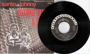 SANTO-amp-JONNY-I-KNOW-ULTIMO-TANGO-A-PARIGI-45-giri-Produttori-associati