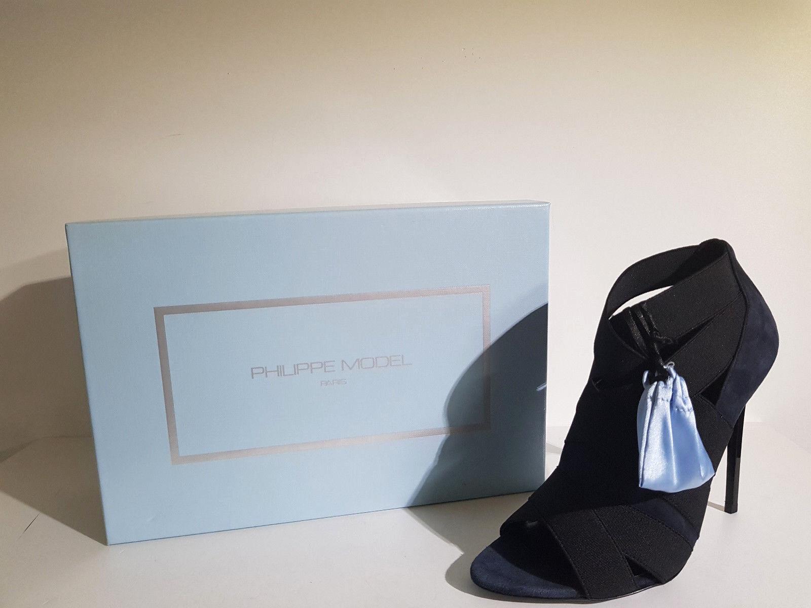 Philippe Modell Frau Pumps. Rabatt -70 % art. el 10 D08 N Col.Blau schwarz