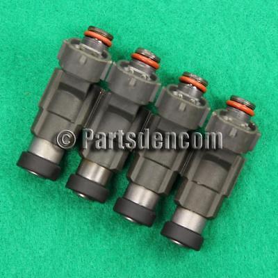 6 FUEL INJECTORS FITS MITSUBISHI PAJERO NM 6G74 3.5 V6 00-04 RED INJECTOR DENSO