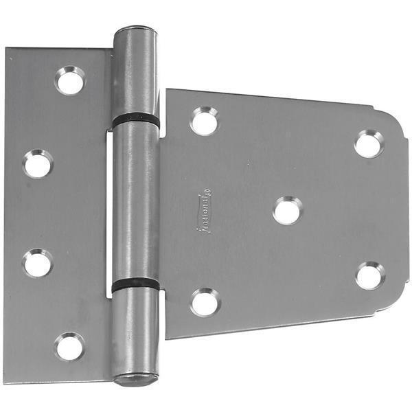3-1//2 Stainless Steel National Hardware N342-543 Hinge