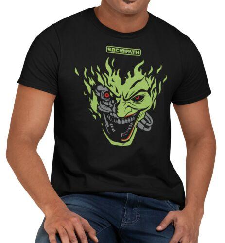The Joker Cyberpunk Gaming Comic Book Men/'s Unisex T-Shirt