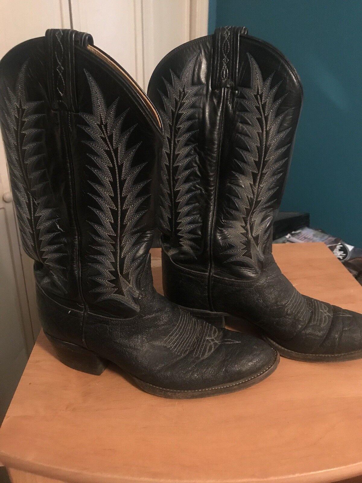 Women's Tony Alamo Cowboy Boots Size 8