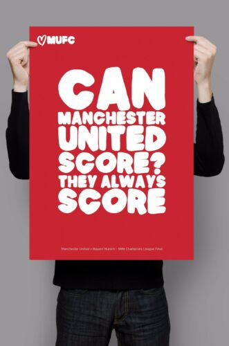Manchester United Famous Quotes Limited Edition A3 Art Posters