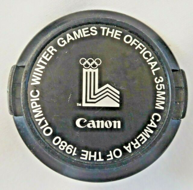 Canon 52mm 1980 Olympic Winter Games Lens Caps