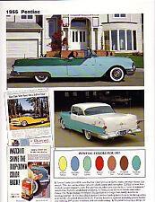 1955 Pontiac + Convertible + Safari Wagon Article - Must See !!