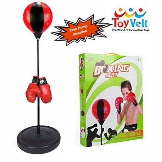 Kids Boxing Toy Set Pun ng Ball Hand Pump  G s Adjustable Outdoor Gift New  incentive promotionals