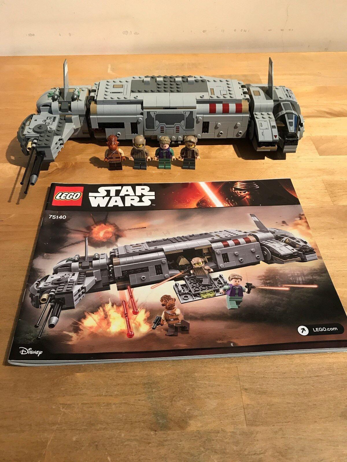 Lego Star Wars 75140-Résistance de transport de troupes (boxed)