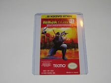 Ninja gaiden 3 III Nes Cartridge Replacement Game Label Sticker Precut