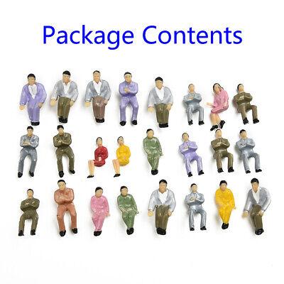 EXCEART 45 Piezas Modelo Tren Personas Peque/ño Ingenier/ía Hombre Modelo Juguete Pl/ástico Escala Modelo Personas Figuras para Escenas en Miniatura Tren Ferrocarril Arena Mesa Decoraci/ón