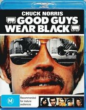 GOOD GUYS WEAR BLACK (Chuck Norris)   - BLU RAY - Sealed Region B