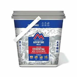 Mountain House Essential Bucket Gluten Free Freeze Dried Backpack & Camping Food
