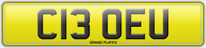 CHLOE-U-REGISTRATION-C13-OEU-REG-CHLOEY-NO-FEES-ASSIGNED-4U-NUMBER-PLATE-CLO-REG
