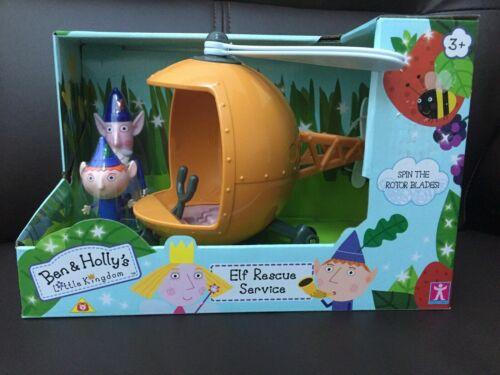 Ben /& Hollys Little Kingdom Toys-Elf Helicopter//Royal Limousine avec chiffres