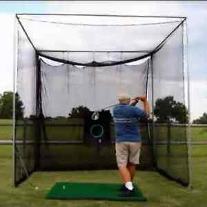 Golf Net Indoor Outdoor 10x10 Driving Practice Netting Diy