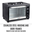 thumbnail 3 - 45L Convention Oven Bench Top Multi Ventilation Hotplates Countertop Baking New