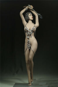 """1/6th Customize Clothing For 12"""" God Of Love Phicen Female Large Breast Figure"""