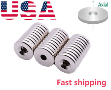 Disc18mm Countersunk 45mm Disc Round Magnets For Science Crafts Project Board
