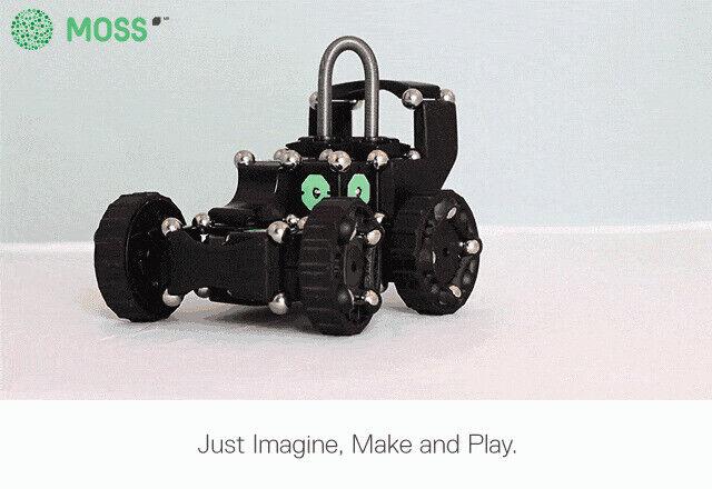 Modular Robotics MOSS - Advanced Robot Builder Kit New