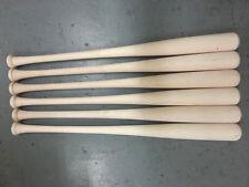 "6 33.5"" Wood Baseball Maple Blem Bats"