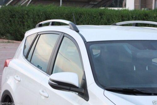 Toyota RAV4 Baujahr 2006 bis 2013 Dachrelinge in chrom mit TÜV und ABE