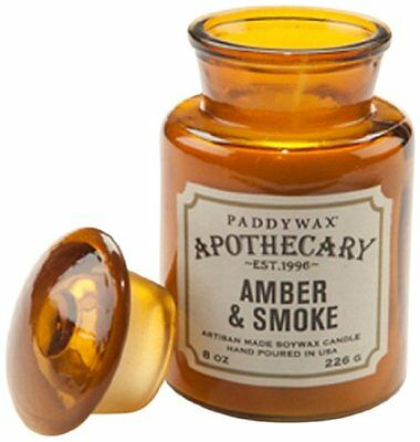 Paddywax Candles Apothecary Collection Glass Jar Candle, 8 ...