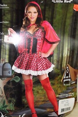Dreamgirl Women/'s Little Red Riding Hood Costume Large,