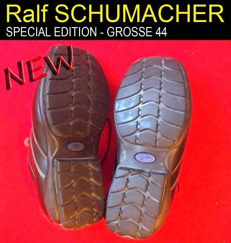 RALF SCHUMACHER - Special Collection - 43 Leder Schuhe - Grosse 43 - - NEU 615456