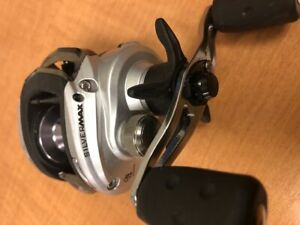 (nouveau) Abu Garcia Silver Max 3 Baitcast Fishing Reel-afficher Le Titre D'origine